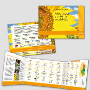 Folletería Global y Regional de Syngenta Girasol