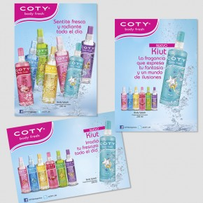 Coty Body Fresh - Campaña 2012